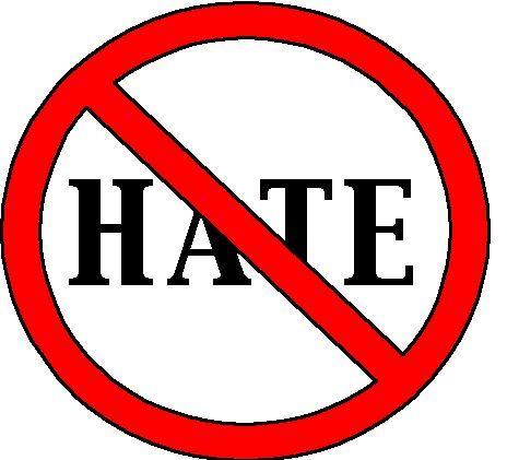 Nu e loc de ură aici