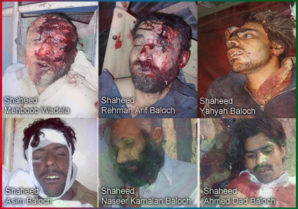 the mutilated bodies of the baloch are a human tragedy not a mere